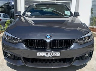 2019 BMW 4 Series F32 LCI 430i M Sport Mineral Grey 8 Speed Sports Automatic Coupe.