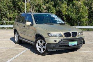 2001 BMW X5 E53 3.0I Beige 5 Speed Auto Steptronic Wagon.