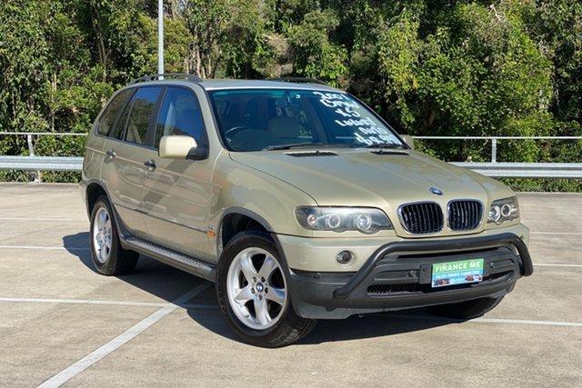 Used BMW X5 E53 3.0I Morayfield, 2001 BMW X5 E53 3.0I Beige 5 Speed Auto Steptronic Wagon