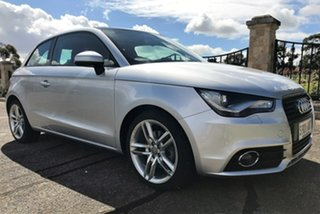 2011 Audi A1 8X MY11 Ambition S Tronic Silver 7 Speed Sports Automatic Dual Clutch Hatchback.
