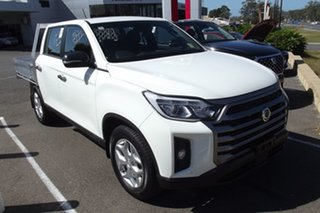 2021 Ssangyong Musso Q215 MY21 ELX Crew Cab White 6 Speed Manual Utility.