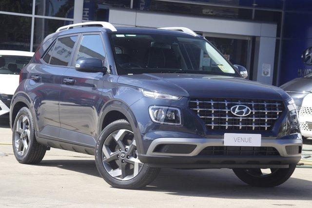 New Hyundai Venue QX.V3 MY21 Elite Gladstone, 2021 Hyundai Venue QX.V3 MY21 Elite Silver 6 Speed Automatic Wagon