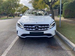 2019 Mercedes-Benz GLA-Class X156 809+059MY GLA180 DCT White 7 Speed Sports Automatic Dual Clutch.