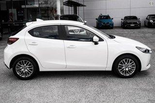 2021 Mazda 2 DJ2HAA G15 SKYACTIV-Drive GT White 6 Speed Sports Automatic Hatchback