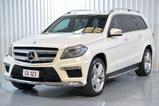 2013 Mercedes-Benz GL350 BlueTec X166 White 7 Speed Automatic Wagon.