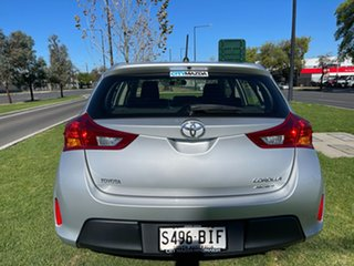 2013 Toyota Corolla ZRE182R Ascent S-CVT Silver Or Chrome/cloth 7 Speed Constant Variable Hatchback