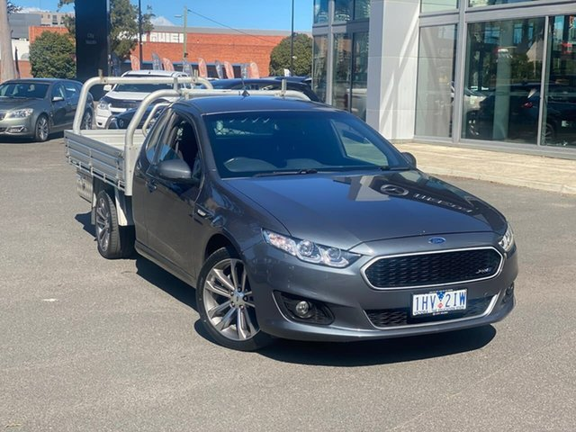 Used Ford Falcon FG X XR6 Super Cab South Melbourne, 2016 Ford Falcon FG X XR6 Super Cab Smoke 6 Speed Sports Automatic Cab Chassis