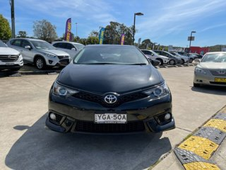 2016 Toyota Corolla ZRE182R SX S-CVT Black 7 Speed Constant Variable Hatchback.