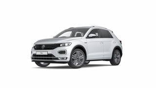2021 Volkswagen T-ROC A1 140TSI Sport White Silver 7 Speed Semi Auto SUV.
