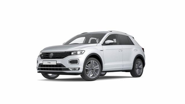New Volkswagen T-ROC A1 140TSI Sport Hamilton, 2021 Volkswagen T-ROC A1 140TSI Sport White Silver 7 Speed Semi Auto SUV