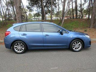 2015 Subaru Impreza G4 MY14 2.0i Lineartronic AWD Blue 6 Speed Constant Variable Hatchback.