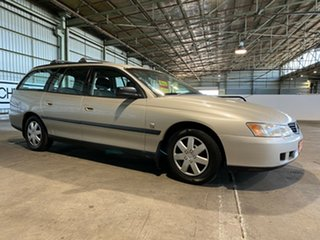 2004 Holden Commodore VY II Executive Gold 4 Speed Automatic Wagon.