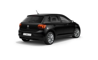 2021 Volkswagen Polo AW MY21 85TSI DSG Style Black 7 Speed Sports Automatic Dual Clutch Hatchback