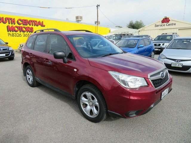 Used Subaru Forester MY13 2.5I Morphett Vale, 2013 Subaru Forester MY13 2.5I Red Continuous Variable Wagon