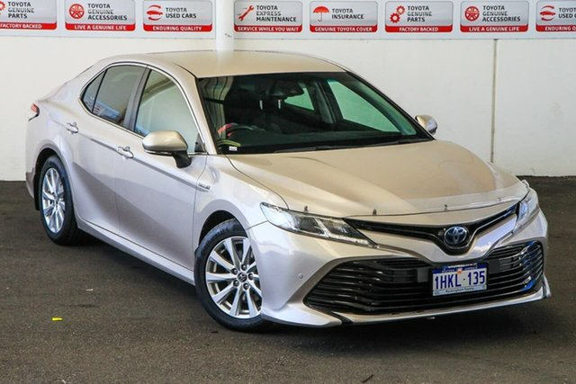 Pre-Owned Toyota Camry AXVH71R Ascent (Hybrid) Rockingham, 2018 Toyota Camry AXVH71R Ascent (Hybrid) Steel Blonde Continuous Variable Sedan