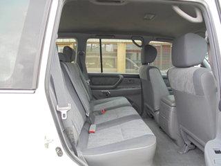 2002 Toyota Landcruiser HZJ105R GXL White 5 Speed Manual Wagon