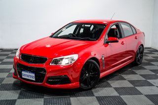 2013 Holden Commodore VF MY14 SV6 Red 6 Speed Sports Automatic Sedan.