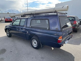 2001 Mitsubishi Triton MK GLX Blue 5 Speed Manual Club Cab Utility