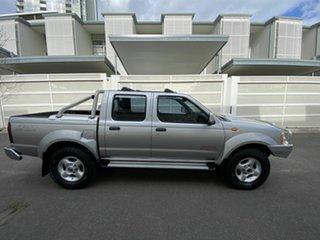 2009 Nissan Navara D22 MY2009 ST-R Silver 5 Speed Manual Utility.