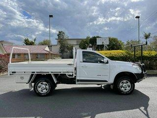 2014 Holden Colorado RG LX White 6 Speed Automatic Single Cab.