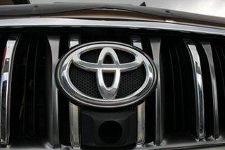2010 Toyota Landcruiser Prado KDJ150R Kakadu Crystal Pearl 5 Speed Sports Automatic Wagon