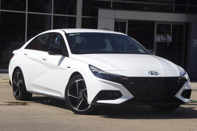 New Hyundai i30 Wangaratta, 2021 Hyundai i30 Polar White DCT 7 Speed Sedan