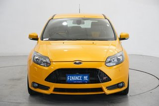 2014 Ford Focus LW MkII ST Yellow 6 Speed Manual Hatchback.