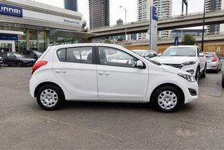 2014 Hyundai i20 PB MY14 Active White 4 Speed Automatic Hatchback