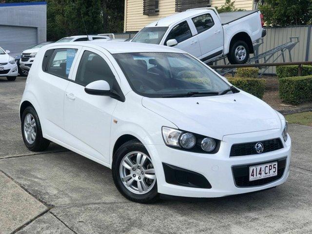 Used Holden Barina TM MY16 CD Chermside, 2016 Holden Barina TM MY16 CD White 6 Speed Automatic Hatchback