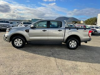 2016 Ford Ranger PX MkII XLS Double Cab Silver 6 Speed Sports Automatic Utility