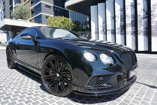 Used Bentley Continental 3W GT V8 S East Brisbane, 2016 Bentley Continental 3W GT V8 S Beluga 8 Speed Sports Automatic Coupe