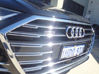 2019 Audi A8 4N MY20 50 TDI Quattro Mhev Black Panther 8 Speed Automatic Tiptronic Sedan.