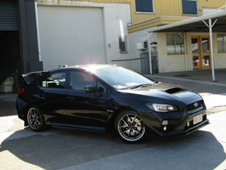 2013 Subaru WRX V1 MY15 STI AWD Premium Black 6 Speed Manual Sedan.