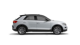 2020 Volkswagen T-ROC A1 110TSI Style White Silver 8 Speed Automatic SUV