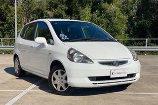 2004 Honda Jazz White 4 Speed Auto Active Select Hatchback.