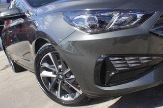 2021 Hyundai i30 PD.V4 MY22 Active Amazon Gray 6 Speed Sports Automatic Hatchback.