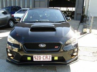 2013 Subaru WRX V1 MY15 STI AWD Premium Black 6 Speed Manual Sedan