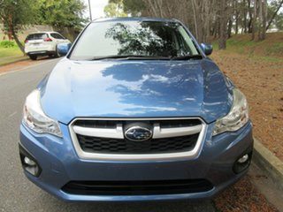 2015 Subaru Impreza G4 MY14 2.0i Lineartronic AWD Blue 6 Speed Constant Variable Hatchback