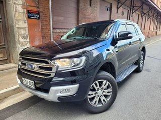 2018 Ford Everest UA 2018.00MY Trend Black/Grey 6 Speed Sports Automatic SUV.
