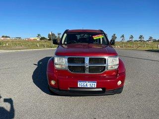 2007 Dodge Nitro KA SXT Red 4 Speed Automatic Wagon.