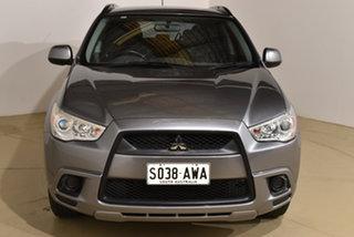 2011 Mitsubishi ASX XA MY11 2WD Grey 6 Speed Constant Variable Wagon.