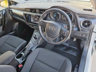 2017 Toyota Corolla ZWE186R Hybrid E-CVT 1 Speed Constant Variable Hatchback Hybrid.