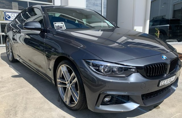 Used BMW 4 Series F32 LCI 430i M Sport Newcastle West, 2019 BMW 4 Series F32 LCI 430i M Sport Mineral Grey 8 Speed Sports Automatic Coupe