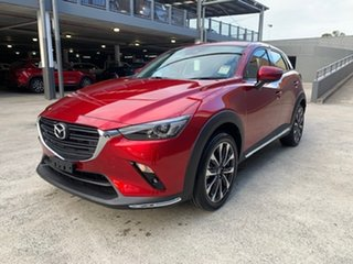 2021 Mazda CX-3 DK2W7A sTouring SKYACTIV-Drive FWD Soul Red Crystal 6 Speed Sports Automatic Wagon