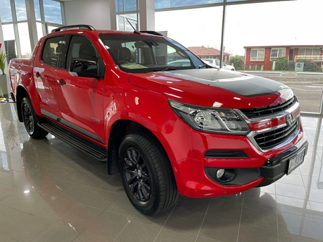 Used Holden Colorado RG MY19 Z71 Pickup Crew Cab Devonport, 2019 Holden Colorado RG MY19 Z71 Pickup Crew Cab Red 6 Speed Sports Automatic Utility