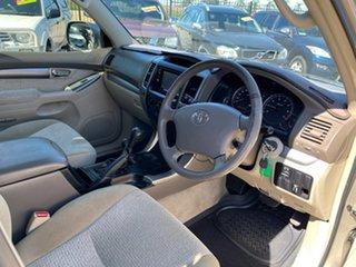 2005 Toyota Landcruiser Prado GRJ120R GXL (4x4) Gold 5 Speed Automatic Wagon