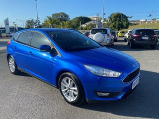 2018 Ford Focus LZ Trend Blue 6 Speed Automatic Hatchback.
