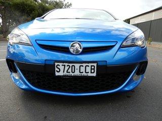 2015 Holden Astra PJ MY15.5 VXR Blue 6 Speed Manual Hatchback.