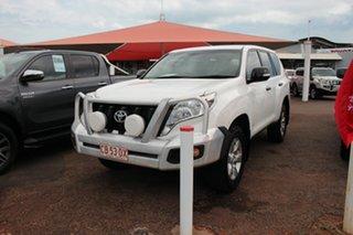 2015 Toyota Landcruiser Prado GDJ150R GX Glacier White 6 Speed Sports Automatic Wagon.