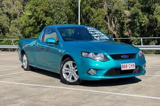 2008 Ford Falcon FG XR6 (LPG) Green 4 Speed Auto Seq Sportshift Utility.